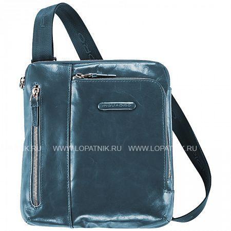 Купить Сумка вертикальная с плечевым ремнем PIQUADRO CA1816B2/AV2, Натуральная кожа