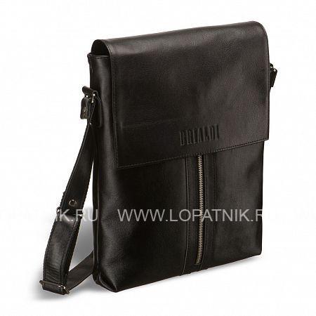 Кожаная сумка через плечо Positano (Позитано) black  BRIALDI BRIALDI-1021Мужские сумки через плечо<br>Отличная, удобная и вместительная сумка для уважающего себя мужчины. Прекрасная, с легким блеском кожа. По-мужски сдержанный дизайн. Послушный клапан на скрытых магнитах легко открывается и быстро, без усилий закрывается. Под клапаном – открытый, удобный карман. Основное отделение – глубокое, просторное, с большим потайным карманом на молнии, кармашками для мобильного телефона, визиток. Снаружи, спереди – оригинальный карман на молнии, на обратной стороне – изящный карман на молнии. Очень аккуратная сумка, чем и привлекательна.<br><br> Высококачественная натуральная кожа сорта Great NappaВмещает формат А4Возможность разместить iPad/ноутбук до 10дюймовКрышка клапана закрывается на скрытые магнитыУ...<br>Материал: Натуральная кожа; Цвет: Черный; Пол: Мужской; Артикул: brialdi-1021;