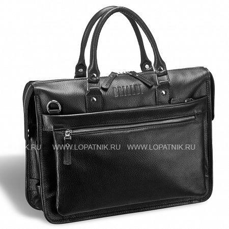 Купить Классическая деловая сумка для документов BRIALDI Pascal (Паскаль) relief black BRIALDI BRIALDI-12042, Черный, Натуральная кожа