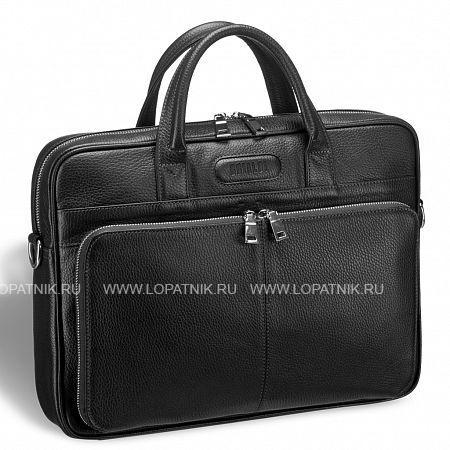 Купить Удобная деловая сумка для документов BRIALDI Pasteur (Пастер) relief black BRIALDI BRIALDI-12051, Черный, Натуральная кожа