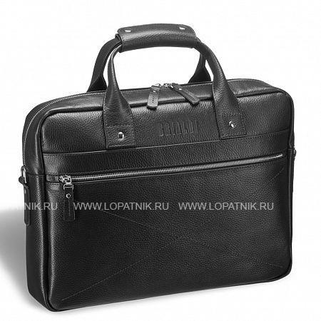 Купить Деловая сумка для документов BRIALDI Polo (Поло) relief black BRIALDI BRIALDI-12065, Черный, Натуральная кожа
