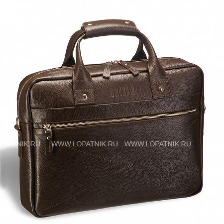 Купить Деловая сумка для документов BRIALDI Polo (Поло) relief brown BRIALDI BRIALDI-12066, Коричневый, Натуральная кожа