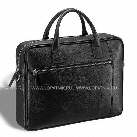 Купить Классическая деловая сумка для документов BRIALDI Rochester (Рочестер) relief black BRIALDI BRIALDI-12997, Черный, Натуральная кожа