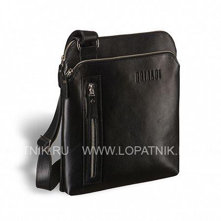 """Кожаная сумка через плечо BRIALDI Providence? (Провиденс) black BRIALDI BRIALDI-1518Мужские сумки через плечо<br>Удачный планшет! Стильный, элегантный, продумано сконструированный, составляющий хорошее впечатление уже при первом взгляде. Просторное основное отделение вмещает бумаги формата А4, 10"""" ноутбук или планшет, так же в основном отделении – потайной карман на молнии. Глубокий карман спереди идеален для mini iPad или ежедневника. Вертикальный карман на молнии идеален для предметов, которые нужно держать под рукой. Крепления плечевого ремня удобно расположены по диагонали.<br><br> Высококачественная натуральная кожа сорта Great NappaВмещает формат А4Возможность разместить iPad/ноутбук до 10дюймовЕмкое внутренние отделения на молнии, с карманом для документовГлубокий карман на лицевой стенкеБоковой карм...<br>Материал: Натуральная кожа; Цвет: Черный; Пол: Мужской; Артикул: brialdi-1518;"""