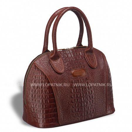 Каркасная женская сумка BRIALDI Villena (Вильена) croco brown BRIALDI BRIALDI-15202Женские сумки<br>Превосходная сумочка, выполненная из высококачественной натуральной кожи, найдет поклонниц среди женщин любого возраста. Минимум фурнитуры подчеркивает монолитность дизайна. Сумочка закрывается на молнию, носиться на сгибе руки или на плече. Отлично держит форму, на дне имеются металлические ножки. Внутри: одно основное отделение, по стенкам расположены карманы: для документов, мобильного телефона, важных дамских аксессуаров. Вместительная модель дополнит повседневный образ и будет повсюду сопровождать вас, будь то офис или магазин, прогулка по городу или встреча с друзьями. Размеры сумки позволят уместить все самое необходимое: косметику, документы, телефон, планшет, портмоне и даже компакт...<br>Материал: Натуральная кожа; Цвет: Коричневый; Пол: Женский; Артикул: brialdi-15202;