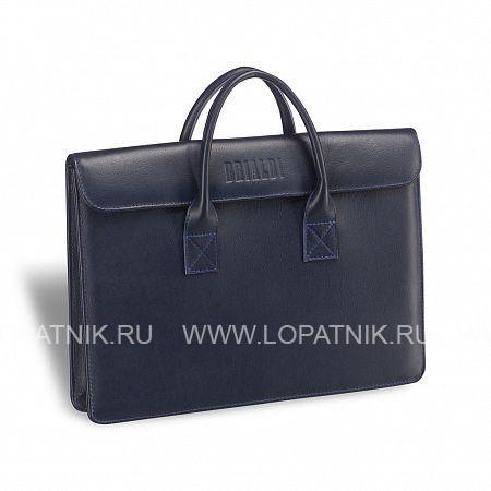 Купить Женская деловая сумка Vigo (Виго) navi BRIALDI BRIALDI-3410, Синий, Натуральная кожа