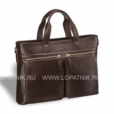 Купить Деловая сумка для документов Bosa (Боза) brown BRIALDI BRIALDI-7232, Коричневый, Натуральная кожа
