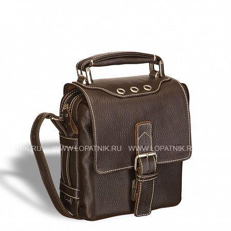 Кожаная сумка через плечо BRIALDI Page (Пейдж) brown BRIALDI BRIALDI-9520Женские сумки<br>Компактная практичная сумка на каждый день. Портфельная ручка анатомической формы позволит надежно нести свои вещи. Под фальш-ремешком, который можно регулировать по длине, настоящий портфельный замок. Обратная сторона клапана выполнена из эффектной замши. Под клапаном спрятался карман на молнии. Основное отделение надежно закрывается на молнию. Внутри основного отделения расположено два кармана: один на молнии, второй открытый (с уплотнением). На движках молний эффектные и удобные кожаные захваты. На обратной стороне сумки карман на молнии.<br>Высококачественная натуральная кожа CanyonВмещает гаджет до 7Основное отделение закрывается на молниюПортфельная анатомическая ручка для ношения в руке...<br>Материал: Натуральная кожа; Цвет: Коричневый; Пол: Мужской; Артикул: brialdi-9520;