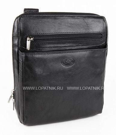 Купить Сумка вертикальная с плечевым ремнем TONY PEROTTI 274445/1, Черный, Натуральная кожа