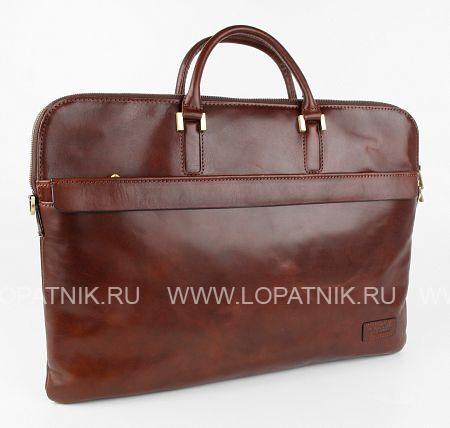 Купить Кожаная сумка для документов TONY PEROTTI 303163/2, Коричневый, Натуральная кожа