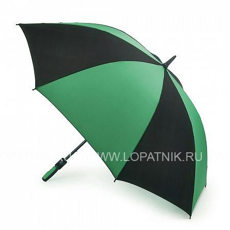 Очень большой семейный зонт FULTON S837-097Зонты мужские<br>Мужской зонт-гольфер с двойным куполом, механика.<br>Огромный, без преувеличения, зонт, под которым чувствуешь себя как под крышей. Смысл двойного купола в том, чтобы уменьшать парусность и тем самым силу, с которой порывы ветра вырывают зонт из рук. Для той же цели – чтобы надежно и комфортно удерживать зонт – у него прорезиненная, не скользящая ручка. Ветроустойчивая конструкция выполнена из фибергласса. Это идеальный зонт не только для спортивных мероприятий в плохую погоду, но и для комфортной жизни в загородном доме.<br>Материал: Полиэстер (тканевый); Цвет: Зеленый , Черный; Пол: Мужской; Артикул: S837-097;