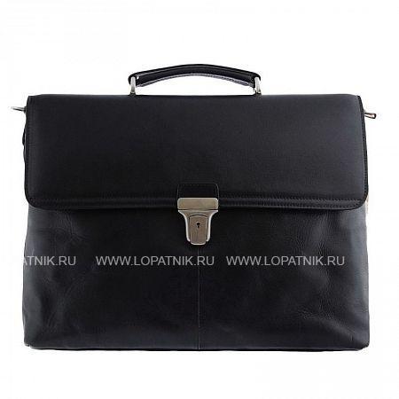 Купить Мужской кожаный портфель TONY PEROTTI 303419/1, Черный, Натуральная кожа