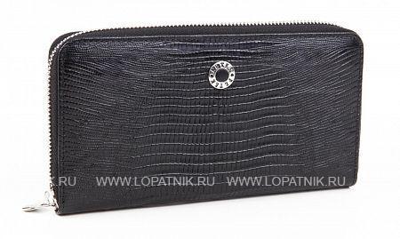 Купить Портмоне кожаное женское PETEK 397.041.01, Черный, Натуральная кожа