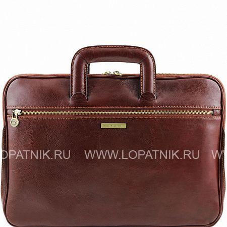 Купить Кожаный портфель для документов TUSCANY TL141324-2, Коричневый, Натуральная кожа