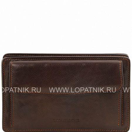 Купить Мужской кожаный клатч TUSCANY TL141445-02, Коричневый, Натуральная кожа