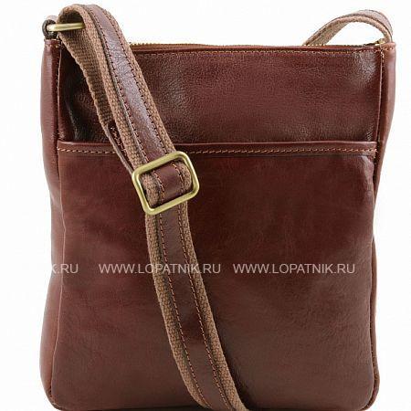 Купить Сумка вертикальная с плечевым ремнем TUSCANY TL141300-2, Коричневый, Натуральная кожа