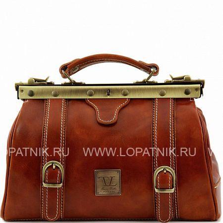 Саквояж кожаный женский TUSCANY TL10034-4, Оранжевый, Натуральная кожа - купить со скидкой