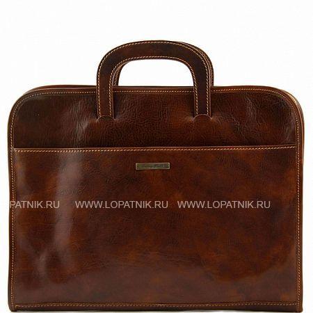 Кожаный портфель для документов TUSCANY TL141022-2, Коричневый, Натуральная кожа - купить со скидкой