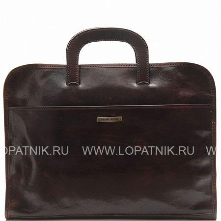 Купить Кожаный портфель для документов TUSCANY TL141022-02, Коричневый, Натуральная кожа