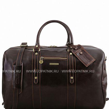 Дорожная кожаная сумка TUSCANY TL141401-02, Коричневый, Натуральная кожа - купить со скидкой