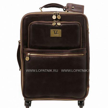 Купить Дорожная кожаная сумка на колесах TUSCANY TL141390-02, Коричневый, Натуральная кожа