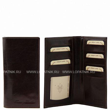 Купить Портмоне кожаное мужское TUSCANY TL140784-2, Коричневый, Натуральная кожа