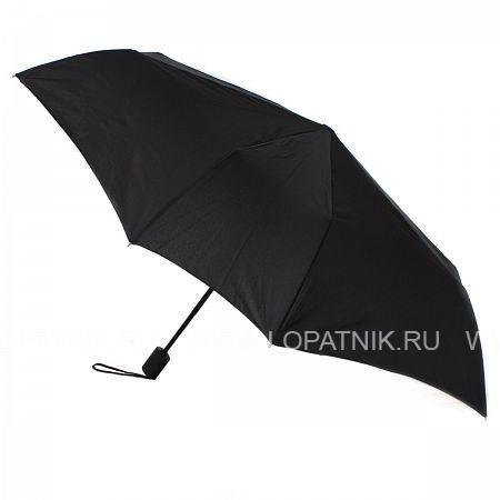 Зонт складной мужской FLIORAJ 010100-T FJ, Черный, Полиэстер (тканевый) - купить со скидкой
