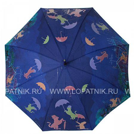Купить Зонт-трость женский FLIORAJ 121211 FJ, Синий
