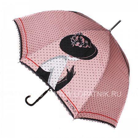 Купить Зонт-трость женский FLIORAJ 121202 FJ, Розовый