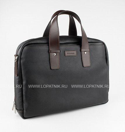 Купить Сумка для ноутбука и документов CHIARUGI 74652, Черный, Натуральная кожа