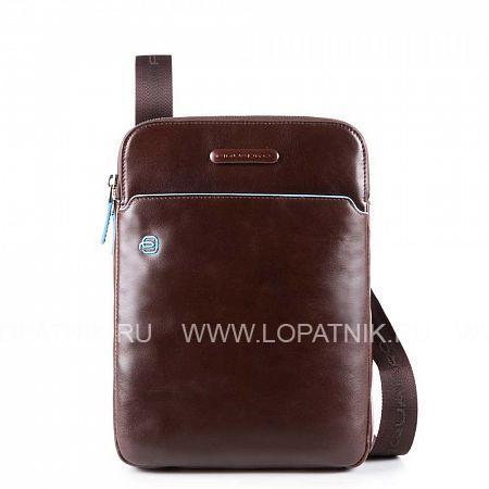 Купить Сумка вертикальная с плечевым ремнем PIQUADRO CA3978B2/MO, Коричневый, Натуральная кожа