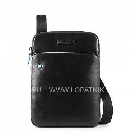 Купить Сумка вертикальная с плечевым ремнем PIQUADRO CA3978B2/N, Черный, Натуральная кожа