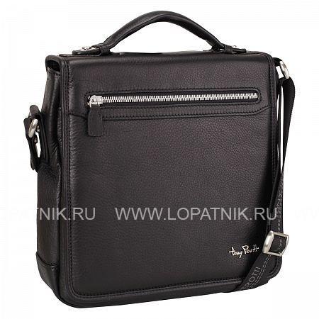Сумка TONY PEROTTI 560115/1Мужские сумки<br><br>Материал: Натуральная кожа; Цвет: Черный; Пол: Мужской; Артикул: 560115/1;