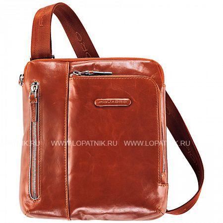 Купить Сумка вертикальная с плечевым ремнем PIQUADRO CA1816B2/AR, Натуральная кожа