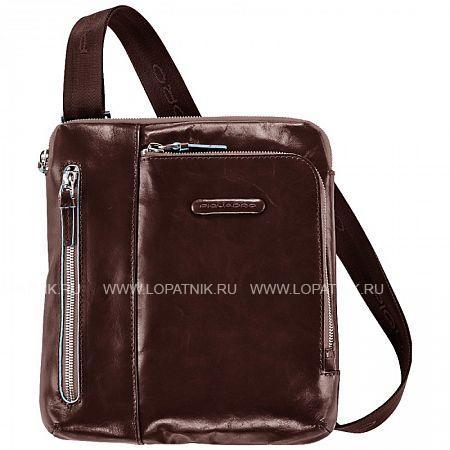 Купить Сумка вертикальная с плечевым ремнем PIQUADRO CA1816B2/MO, Натуральная кожа