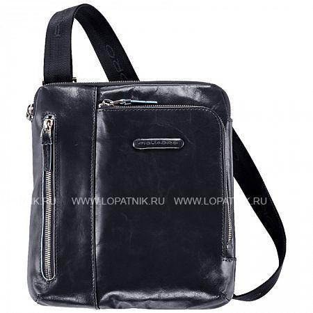 Купить Сумка вертикальная с плечевым ремнем PIQUADRO CA1816B2/BLU2, Натуральная кожа