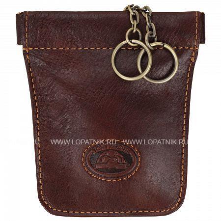 Ключница TONY PEROTTI 331053/2Ключницы мужские<br>Материал: кожа <br>  <br> <br>  <br> Оригинальный кожаный карман с двумя кольцами на цепочках.<br>Материал: Натуральная кожа; Цвет: Коричневый; Пол: Мужской; Артикул: 331053/2;