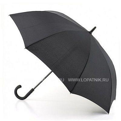 Зонт-трость мужской FULTON G828-01Зонты<br>Замечательный мужской зонт-трость сочетающий в себе роскошь, надежность и стиль.<br>Легкий и гибкий каркас из фибергласса для большей надежности<br>Легко открывается нажатием кнопки<br>Увеличенный купол<br>Удобная обрезиненная ручка<br>Длина зонта в сложенном виде 91 см, диаметр купола 116 см<br>Материал: None; Цвет: Черный; Пол: Мужской; Артикул: G828-01;