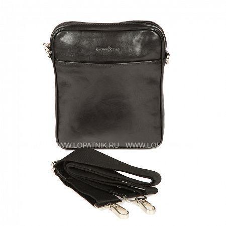 Сумка-планшет GIANNI CONTI 912154 BLACKСумки-планшет мужские<br>страна производитель: Италия<br><br>  владелец бренда: Elda Trade s.r.l.<br><br>  сумка закрывается на молнию, оснащена регулируемым съемным плечевым ремнем<br><br>  внутри: один отдел, в котором карман для сотового телефона<br><br>  один кармашек для документов на молнии<br><br>  снаружи: на передней стенке карман на кнопке<br><br>  на задней стенке карман для документов на молнии<br>Материал: Натуральная кожа; Цвет: Черный; Пол: Мужской; Артикул: 912154 black;