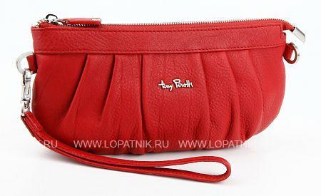 Сумка женская кожаная TONY PEROTTI 563350/4Женские сумки<br>Сумка-клатч, отделение на молнии, короткий ремешок-петелька для ношения сумки на кисти.<br>Материал: Натуральная кожа; Цвет: Красный; Пол: Женский; Артикул: 563350/4;
