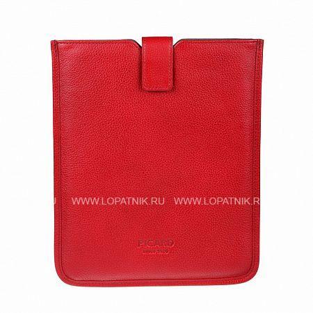 Чехол для iPad PICARD 8111 ROTЧехлы для iPad и iPhone<br>Описание:<br> закрывается клапаном на липучке<br> внутри отдел для планшета<br>Материал: Натуральная кожа; Цвет: Красный; Пол: Женский; Артикул: 8111 rot;