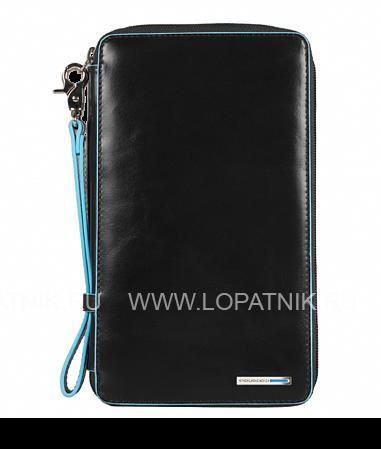Портмоне мужское PIQUADRO PP3246B2/NПортмоне и кошельки<br>Это многофункциональное портмоне станет незаменимым аксессуаром на все случаи жизни. Портмоне имеет отделения для кредитных карт и купюр, карман для визитных карт и документов, крепеж для ручки а также съемный клатч. Кроме того в Вашем распоряжении удобный ремешок на запястье.<br>Материал: Натуральная кожа; Цвет: Черный; Пол: Мужской; Артикул: PP3246B2/N;