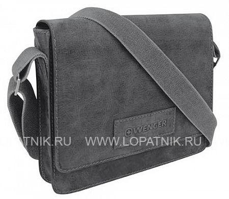 Сумка наплечная горизонтальная А4 ARIZONA WENGER W23-02BLМужские сумки через плечо<br>Сумка наплечная горизонтальная А4 WENGER ARIZONA, чёрный, кожа, 30х7x25 см<br>Материал: Натуральная кожа; Цвет: Черный; Пол: Мужской; Артикул: W23-02Bl;