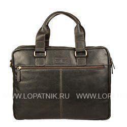 Купить Сумка для ноутбука GIANNI CONTI 1221265 BLACK, Черный, Натуральная кожа