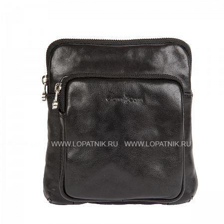 Купить Сумка на плечевом ремне GIANNI CONTI 912302 BLACK, Черный, Натуральная кожа