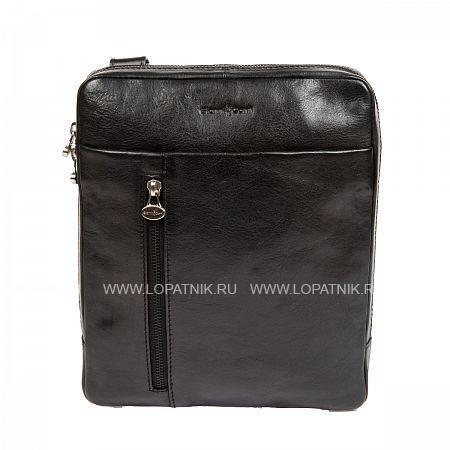 Купить Сумка на плечевом ремне GIANNI CONTI 912303 BLACK, Черный, Натуральная кожа