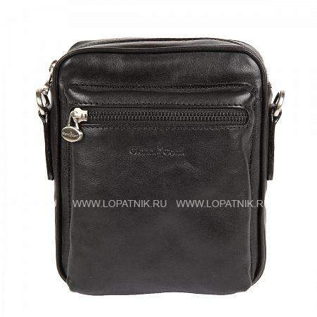 Купить Сумка со съемным плечевым ремнем GIANNI CONTI 912345 BLACK, Черный, Натуральная кожа