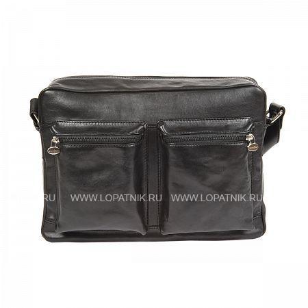 Купить Сумка на плечевом ремне GIANNI CONTI 912304 BLACK, Черный, Натуральная кожа
