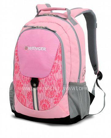 Рюкзак WENGER 31268415Рюкзаки<br>Рюкзак WENGER, розовый/серый, полиэстер 600D, 32х14х45 см, 20 л<br>Материал: None; Цвет: None; Пол: None; Артикул: 31268415;