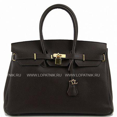 Сумка женская TUSCANY TL141092-02Женские сумки<br>Экстравагантная женская сумка из натуральной текстурированной кожи. Для ношения имеются удлиненные ручки, вместительное внутреннее пространство состоит из одного отделения с вшитыми карманами. Хорошо подходит женщинам любого возраста и любой комплекции и прекрасно дополняет внешний вид.<br>Материал: Натуральная кожа; Цвет: Коричневый; Пол: Женский; Артикул: TL141092-02;